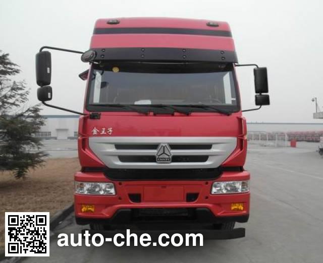 Sida Steyr ZZ5251CCYM56C1E1L грузовик с решетчатым тент-каркасом