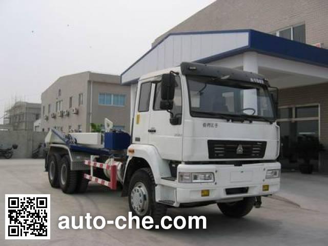 斯达-斯太尔牌ZZ5251GHSM4641W干混砂浆运输车