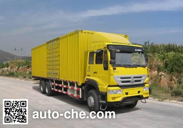Sida Steyr ZZ5251XXYM6041D1 box van truck