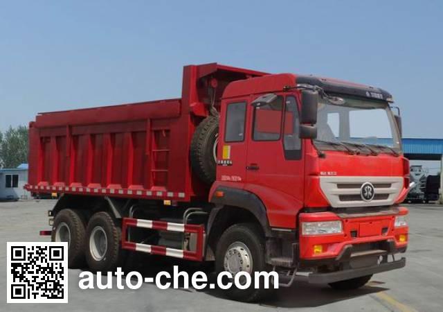 斯达-斯太尔牌ZZ5251ZLJN364GD1自卸式垃圾车