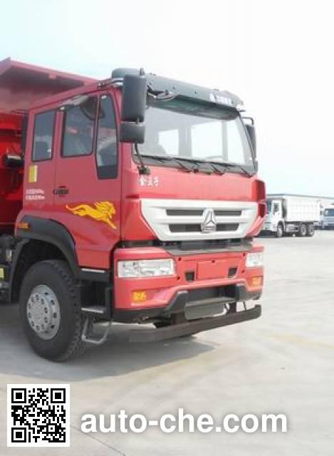 斯达-斯太尔牌ZZ5251ZLJN3841E1L自卸式垃圾车