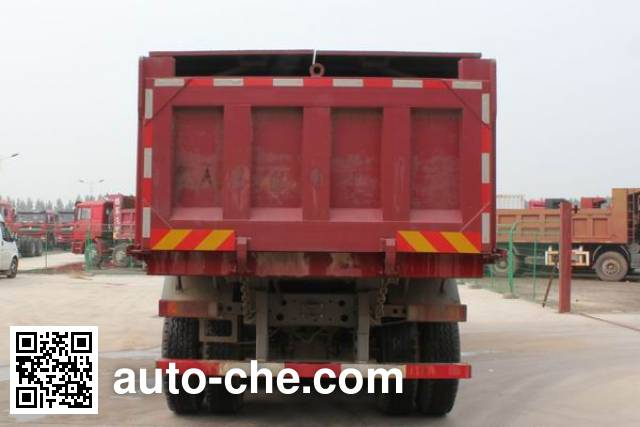 斯达-斯太尔牌ZZ5251ZLJN384GE1自卸式垃圾车