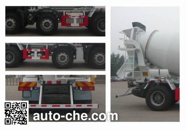 斯达-斯太尔牌ZZ5253GJBN27CGD1混凝土搅拌运输车