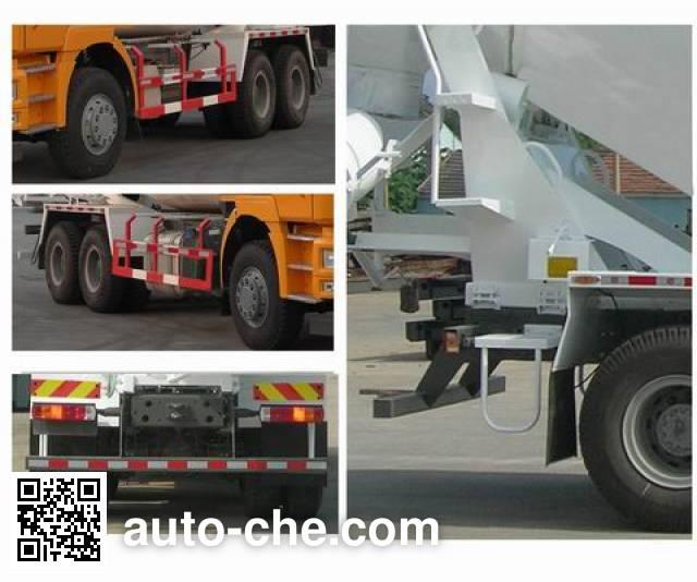 斯达-斯太尔牌ZZ5253GJBN4341D1混凝土搅拌运输车