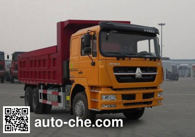 斯达-斯太尔牌ZZ5253ZLJN3841D1自卸式垃圾车