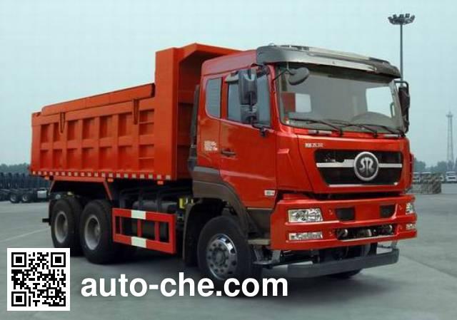 斯达-斯太尔牌ZZ5253ZLJN4141D1N自卸式垃圾车