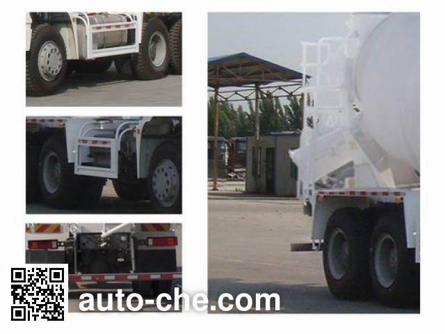 豪瀚牌ZZ5255GJBK3243D1混凝土搅拌运输车