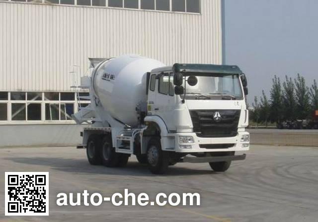 豪瀚牌ZZ5255GJBN3646D1混凝土搅拌运输车
