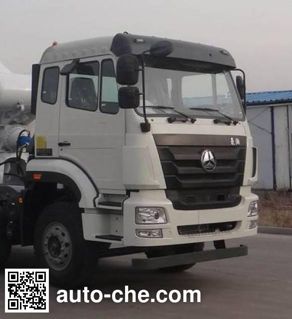 豪瀚牌ZZ5255GJBN3846D1混凝土搅拌运输车
