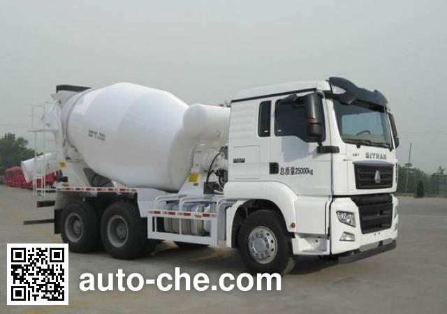 Sinotruk Sitrak ZZ5256GJBV434MD1 concrete mixer truck