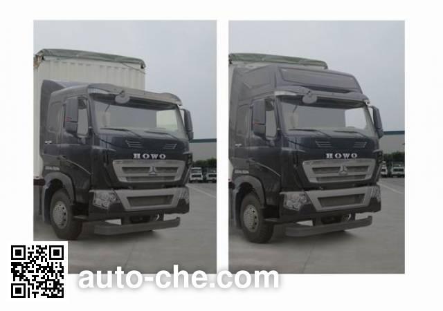 Sinotruk Howo ZZ5257CPYN464MD1 soft top box van truck