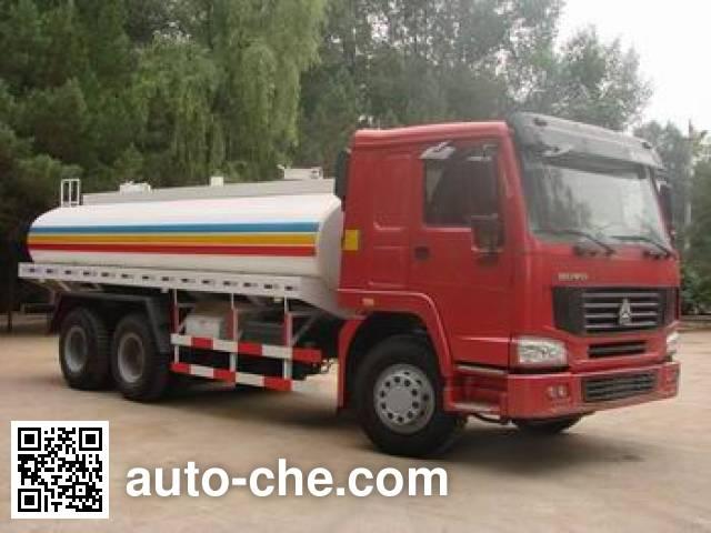 Sinotruk Howo ZZ5257GGSM4347C1 water tank truck