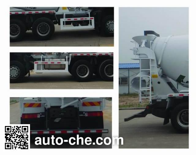 豪沃牌ZZ5257GJBN3247E1混凝土搅拌运输车