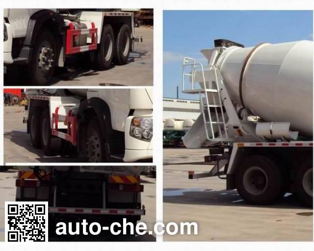 豪沃牌ZZ5257GJBN324GE1混凝土搅拌运输车