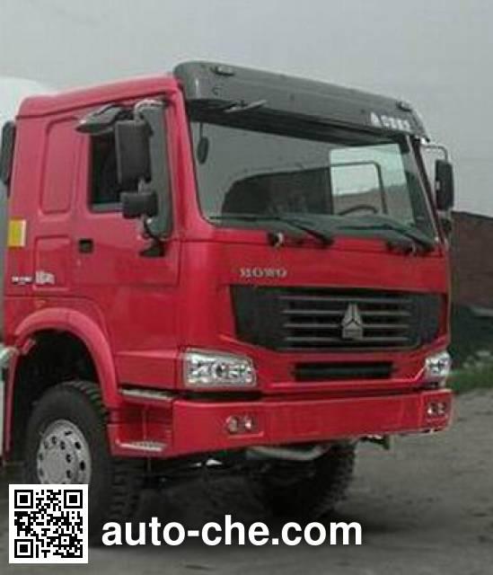 豪沃牌ZZ5257GJBN4047D1混凝土搅拌运输车