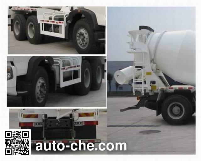 Sinotruk Howo ZZ5257GJBN404GD1 concrete mixer truck