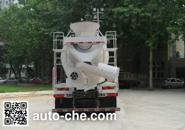 豪沃牌ZZ5257GJBN4347D1混凝土搅拌运输车