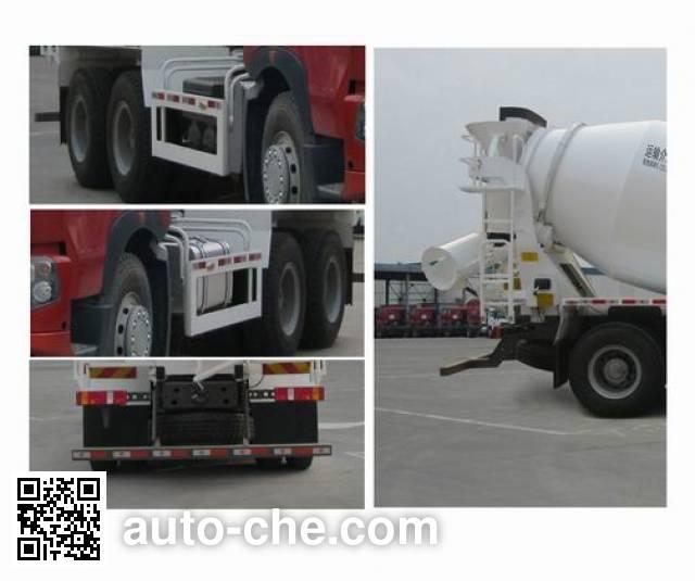 豪沃牌ZZ5257GJBV384HD1混凝土搅拌运输车