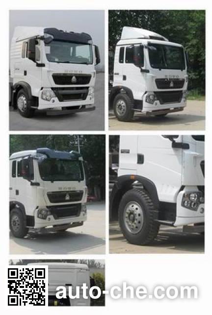 Sinotruk Howo ZZ5257XYKK56CGD1H wing van truck