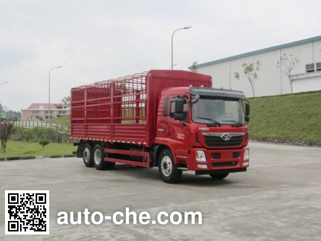 Homan ZZ5258CCYGH0EB0 грузовик с решетчатым тент-каркасом