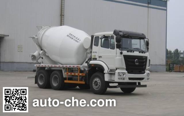 豪瀚牌ZZ5265GJBK3243E1K混凝土搅拌运输车