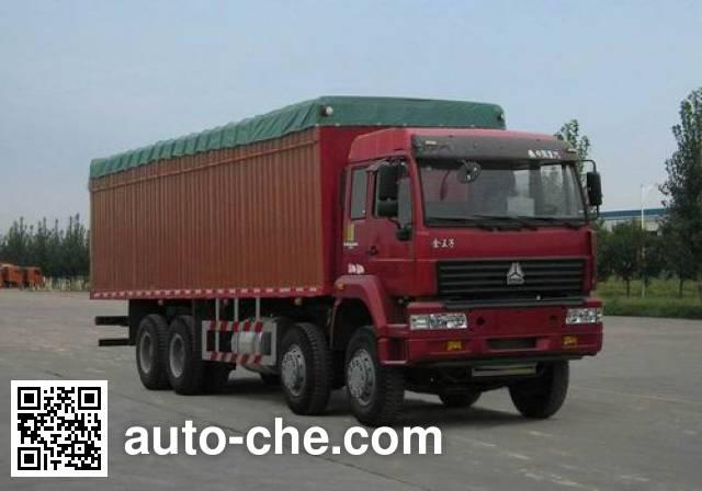 Sida Steyr ZZ5311XXBM3861C1 soft top box van truck