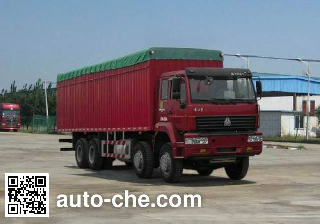 Sida Steyr ZZ5311XXBM4661C1H soft top box van truck