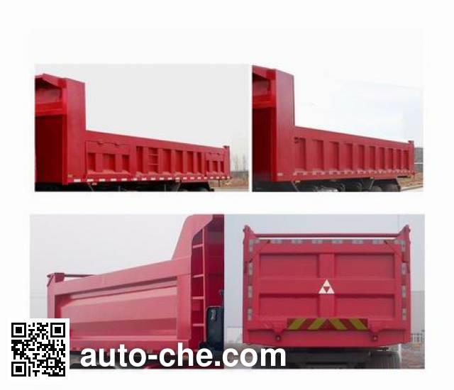 斯达-斯太尔牌ZZ5311ZLJN4061D1自卸式垃圾车