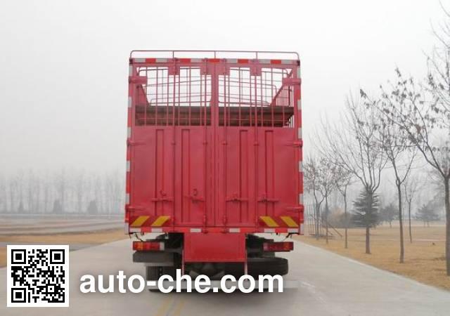 斯达-斯太尔牌ZZ5313CCQN466GD1畜禽运输车