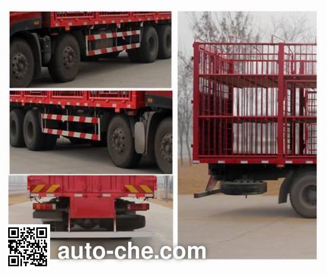Sida Steyr ZZ5313CCQN466GE1 livestock transport truck