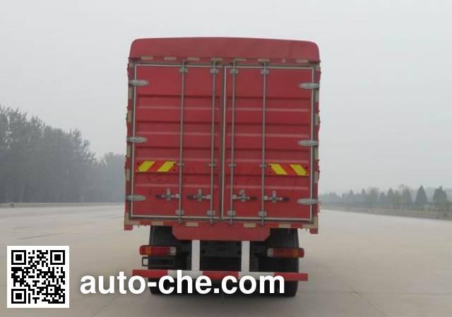 Sida Steyr ZZ5313CCYM466GE1L грузовик с решетчатым тент-каркасом