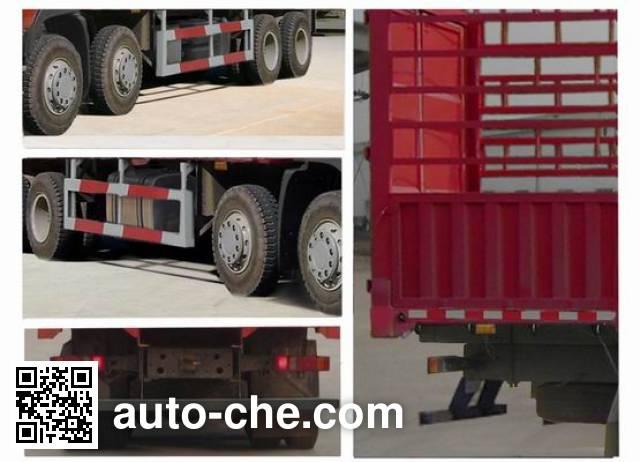 Sida Steyr ZZ5313CCYN4661D1N грузовик с решетчатым тент-каркасом
