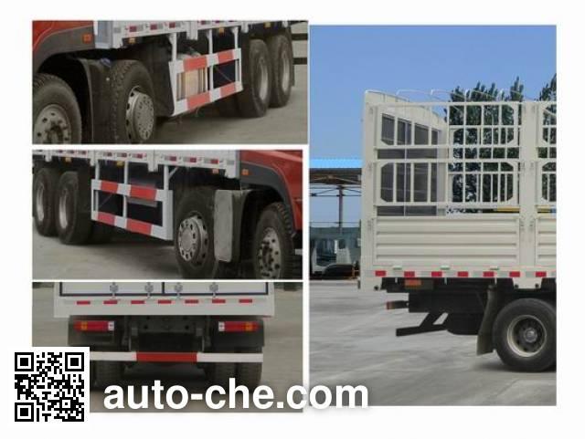 Sida Steyr ZZ5313CCYN466GE1 грузовик с решетчатым тент-каркасом