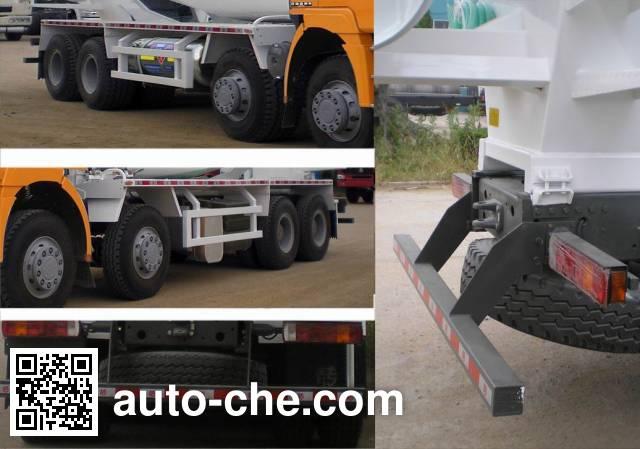斯达-斯太尔牌ZZ5313GJBN3661D1L混凝土搅拌运输车