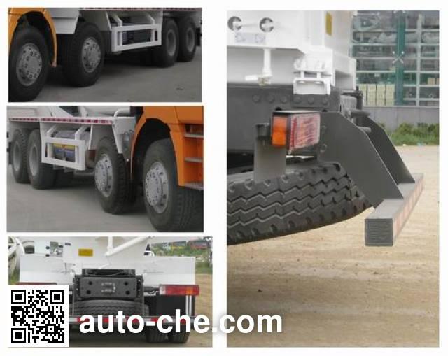 斯达-斯太尔牌ZZ5313GJBN3861E1L混凝土搅拌运输车