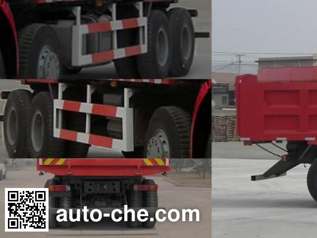 斯达-斯太尔牌ZZ5313ZLJN4661D1自卸式垃圾车