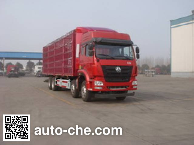 豪瀚牌ZZ5315CCQN4666E1C畜禽运输车
