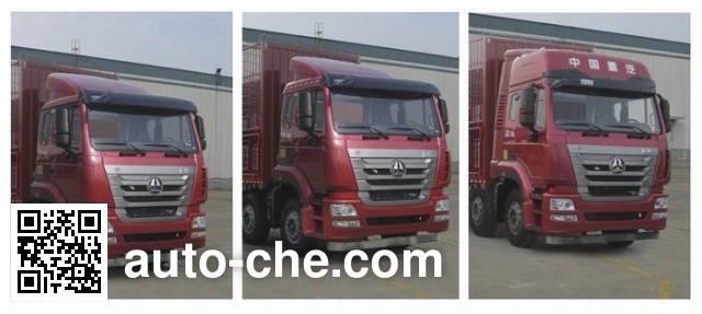 Sinotruk Hohan ZZ5315CCQN4666E1L livestock transport truck