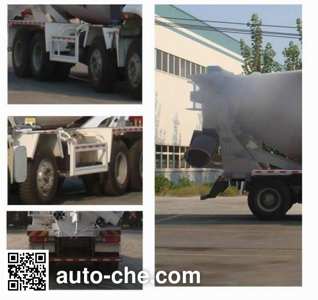 豪瀚牌ZZ5315GJBN3063D1混凝土搅拌运输车