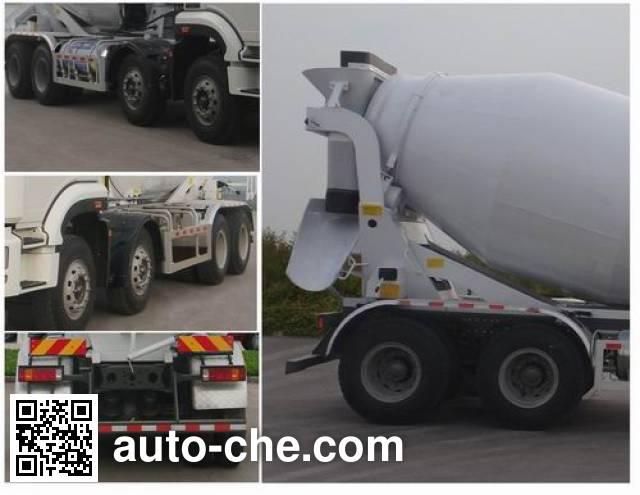 豪瀚牌ZZ5315GJBN3666E1L混凝土搅拌运输车
