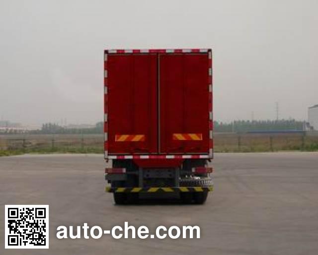 Sinotruk Hohan ZZ5315XXYN4663E1 box van truck