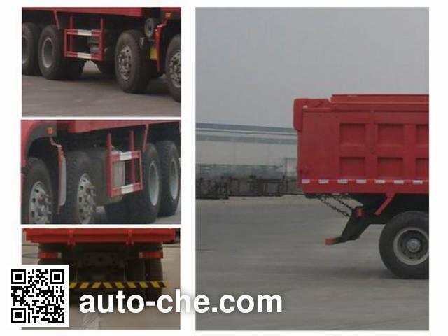 Sinotruk Hohan ZZ5315ZLJN3263D1 dump garbage truck