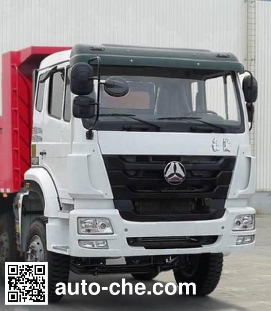 Sinotruk Hohan ZZ5315ZLJN3866D1 dump garbage truck