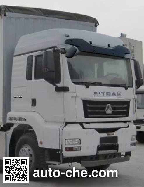 Sinotruk Sitrak ZZ5316CPYN466MD1 soft top box van truck