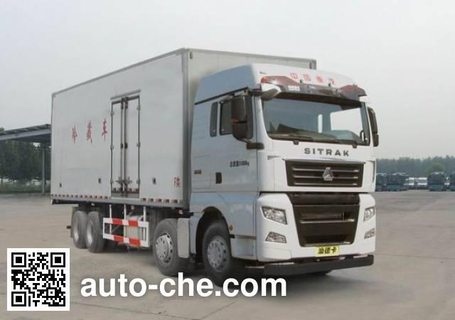汕德卡牌ZZ5316XLCV466HE1冷藏车