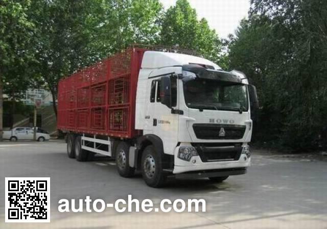 Sinotruk Howo ZZ5317CCQN466GE1 livestock transport truck