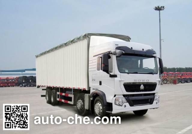 Sinotruk Howo ZZ5317CPYM386GC1 soft top box van truck