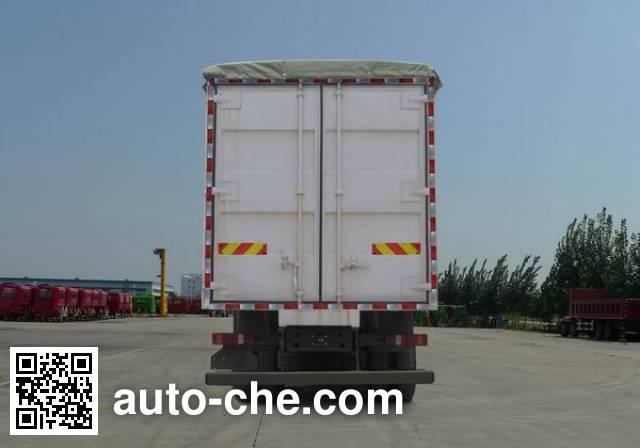 Sinotruk Howo ZZ5317CPYN386GC1 soft top box van truck