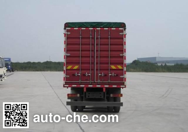 Sinotruk Howo ZZ5317CPYN4667E1LH soft top box van truck