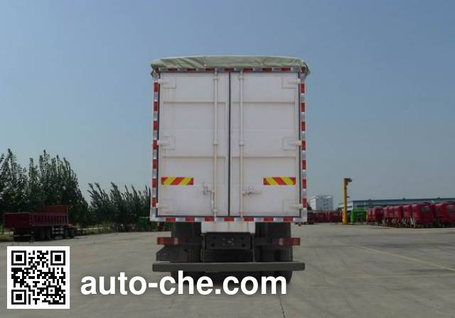 Sinotruk Howo ZZ5317CPYN466GC1 soft top box van truck